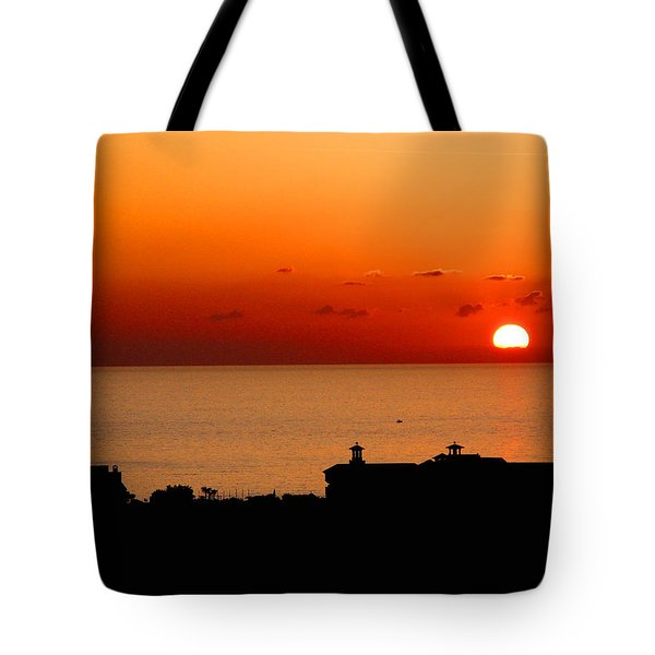 Set Into The Sea Tote Bag