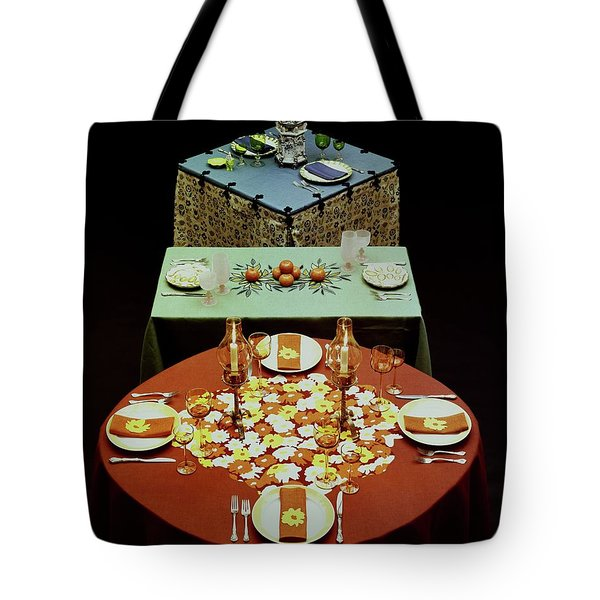 Set Tables Tote Bag