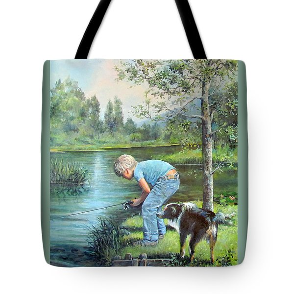 Seth And Spiky Fishing Tote Bag