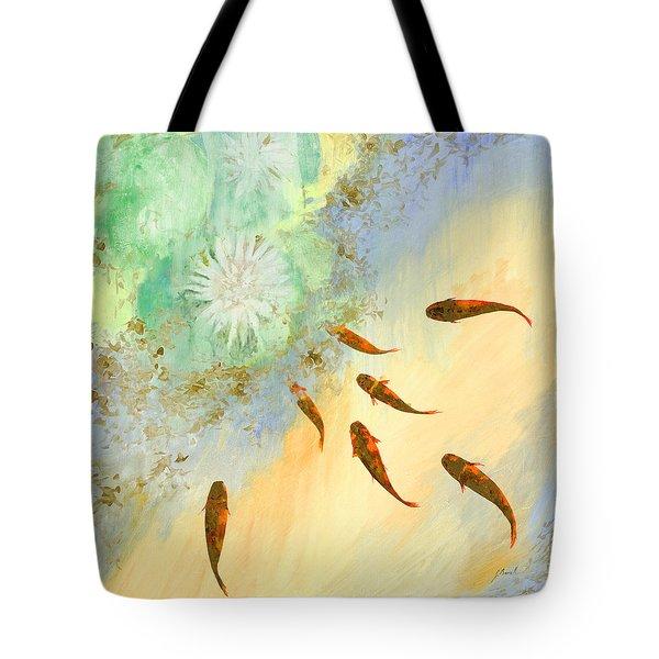 Sette Pesciolini Verdi Tote Bag
