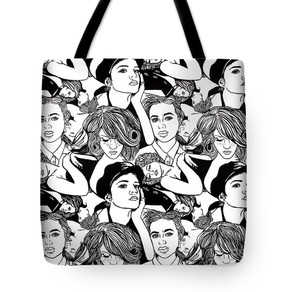 Seven Beauties Tote Bag