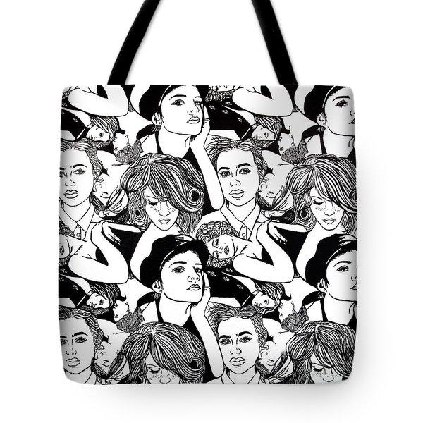 Seven Beauties Tote Bag