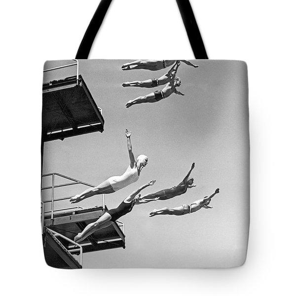 Seven Champion Diving In La Tote Bag