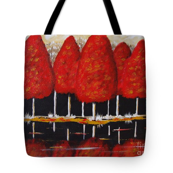Seven Sisters Tote Bag by Beverly Livingstone