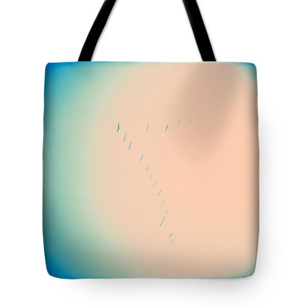 Tote Bag featuring the photograph Seven Sky by Carol Whaley Addassi