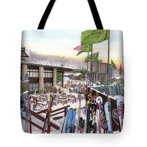 Seven Springs Mountain Resort Tote Bag
