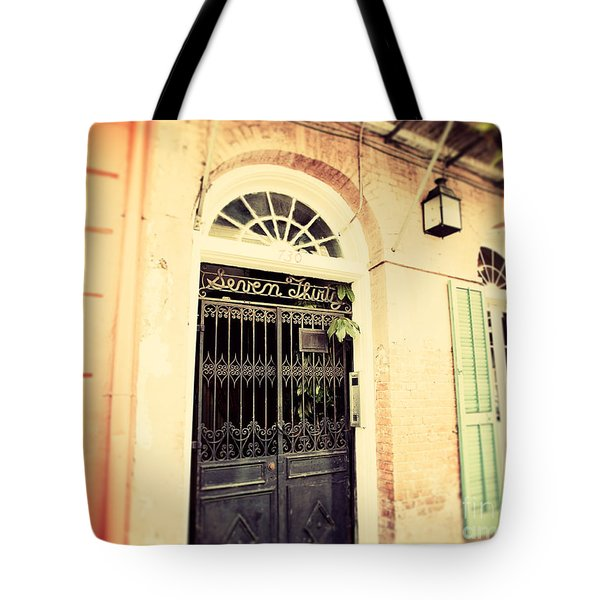 Seven Thirty Tote Bag by Erin Johnson