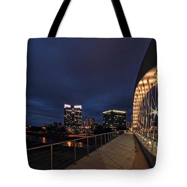 Seventh Avenue Bridge Fort Worth Tote Bag