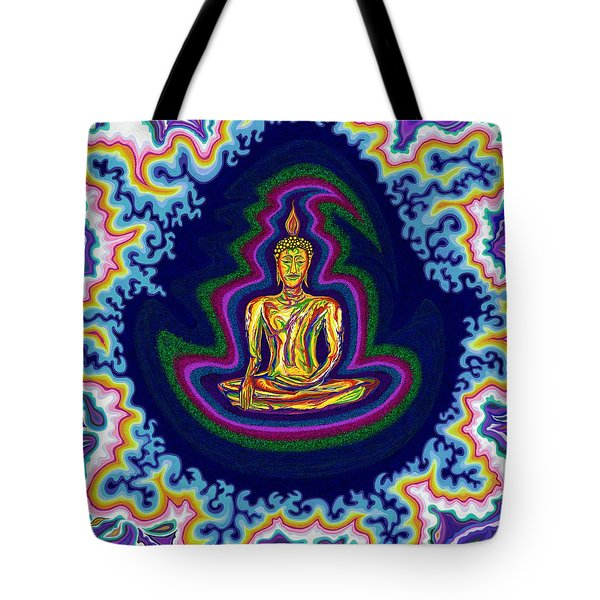 Seventh Heaven Buddha Tote Bag by Robert SORENSEN