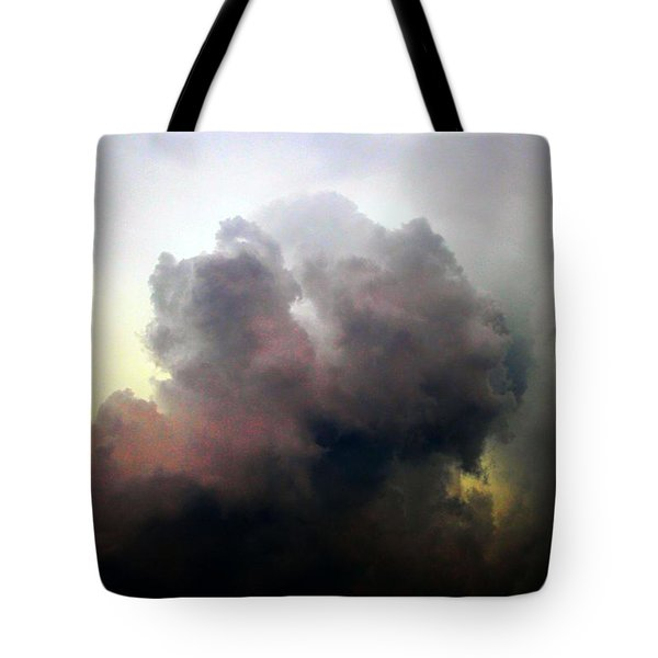 Tote Bag featuring the photograph Severe Cells Over South Central Nebraska by NebraskaSC