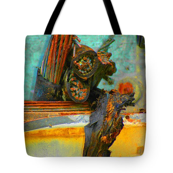 Tote Bag featuring the photograph Severed  by Christiane Hellner-OBrien