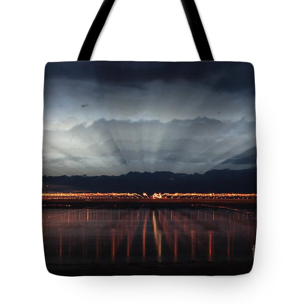 Severn Bridge Tote Bag by Brian Roscorla