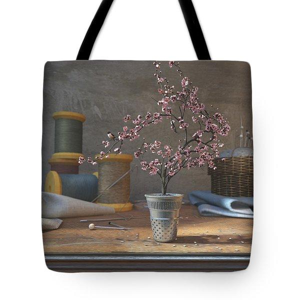 Sew Tiny Tote Bag by Cynthia Decker
