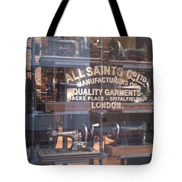 Tote Bag featuring the photograph Sew What by Carol Lynn Coronios