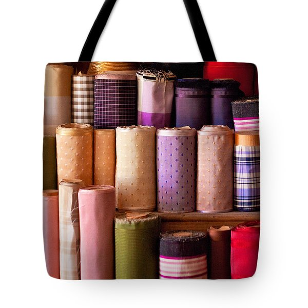 Sewing - Fabric  Tote Bag by Mike Savad