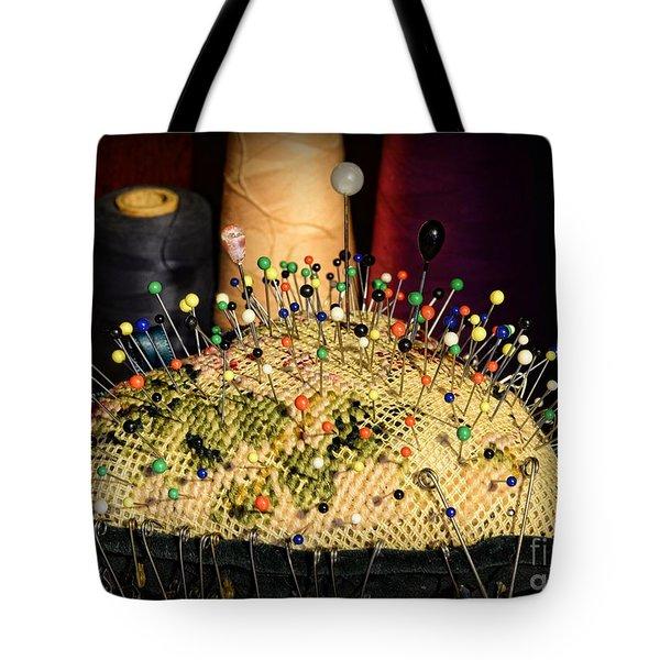 Sewing - The Pin Cushion Tote Bag by Paul Ward