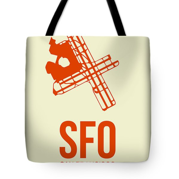 Sfo San Francisco Airport Poster 1 Tote Bag