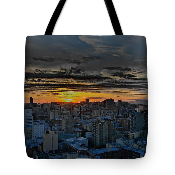 Sfo Sunset Tote Bag