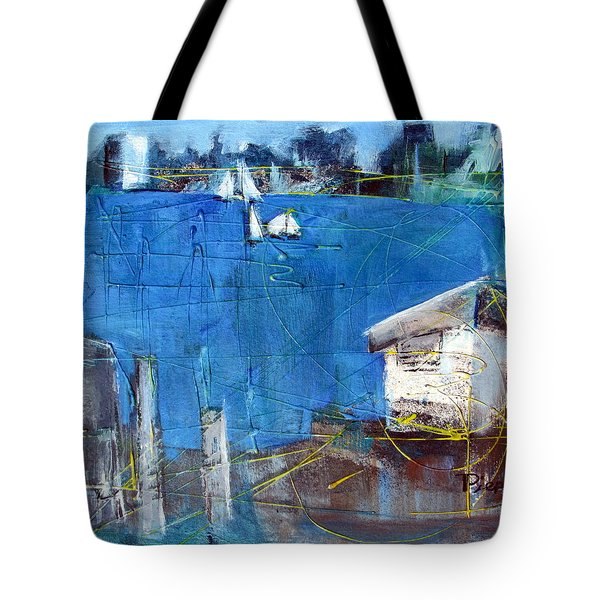 Shack On The Bay Tote Bag