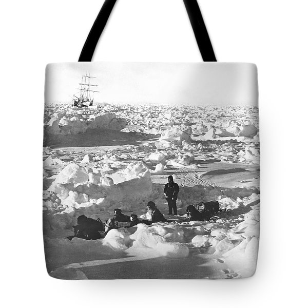 Shackleton's Antarctic Venture Tote Bag