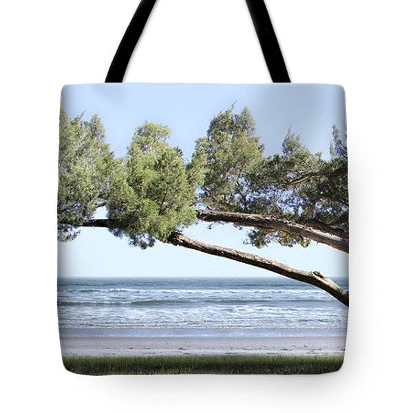 Shade Tree Panoramic Tote Bag