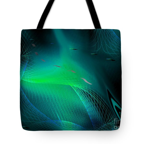 Tote Bag featuring the painting Ecstasy by Yul Olaivar