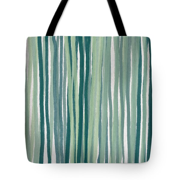 Shades Of Blue Tote Bag by Aged Pixel