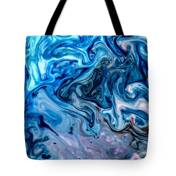 Tote Bag featuring the photograph Shades Of Blue by John Crothers