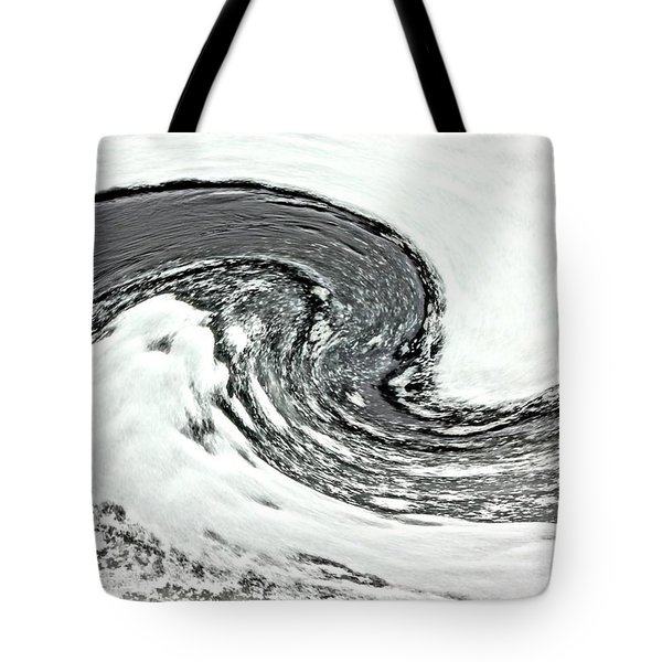 Shades Of Cold Tote Bag by Debi Dmytryshyn