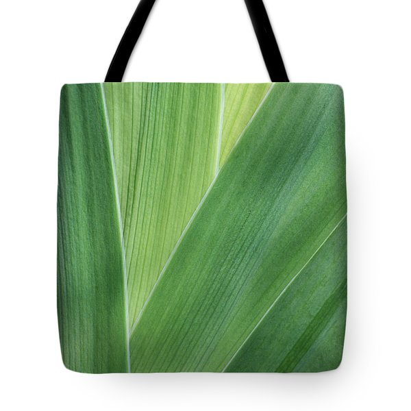 Tote Bag featuring the photograph Shades Of Green #2 by Judy Whitton
