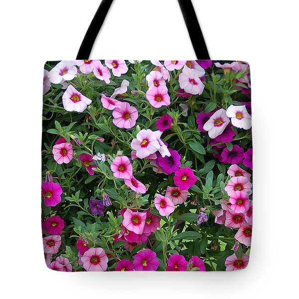 Shades Of Pink Tote Bag by Aimee L Maher Photography and Art Visit ALMGallerydotcom