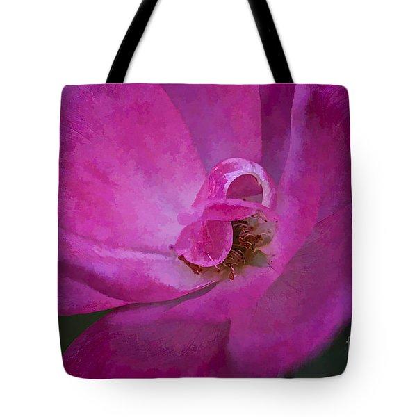 Shades Of Pink Tote Bag by Linda Blair
