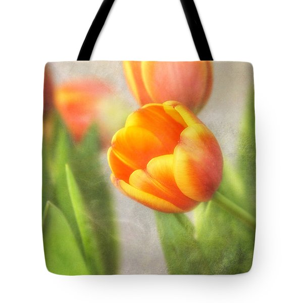 Shades Of Spring Tote Bag