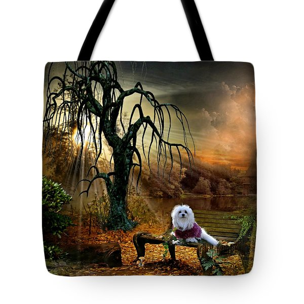 Shades Of The Fall  Tote Bag by Morag Bates