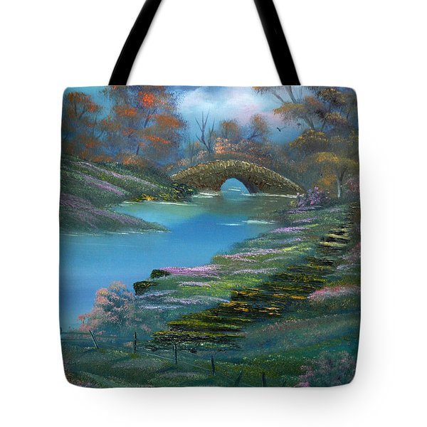 Shades Of The Orient. Tote Bag by Cynthia Adams
