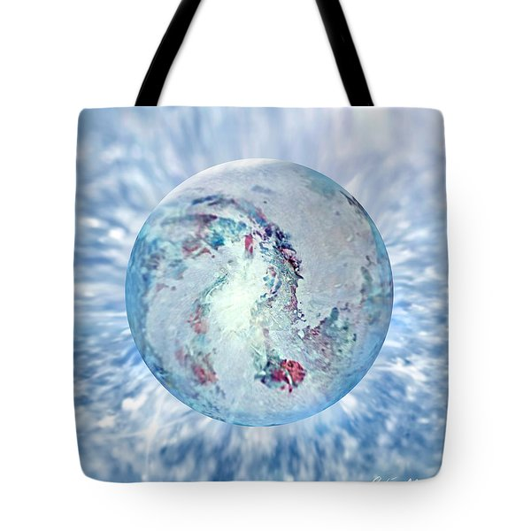 Tote Bag featuring the painting Shades Of Winter by Robin Moline