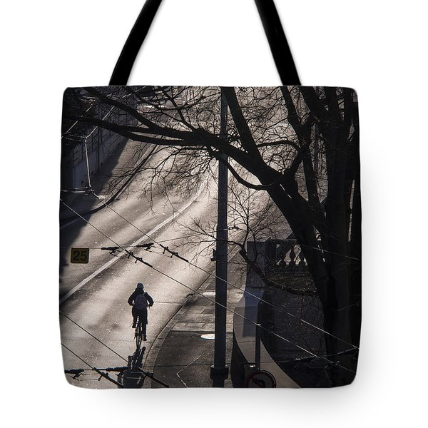 Tote Bag featuring the photograph Shadow And Light by Muhie Kanawati