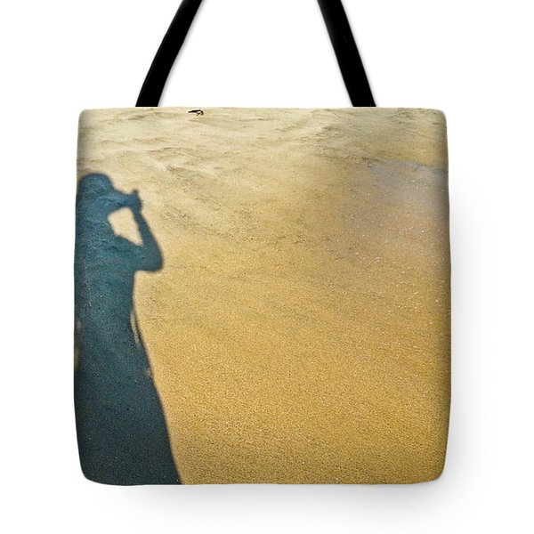 Shadow And Sand Raw Tote Bag