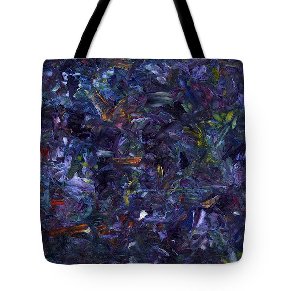 Tote Bag featuring the painting Shadow Blue by James W Johnson