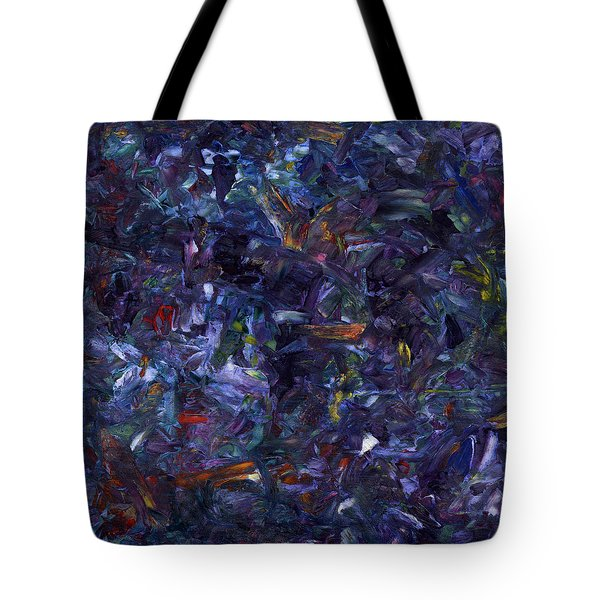 Shadow Blue Square Tote Bag