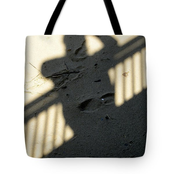 Shadow In The Sand Tote Bag