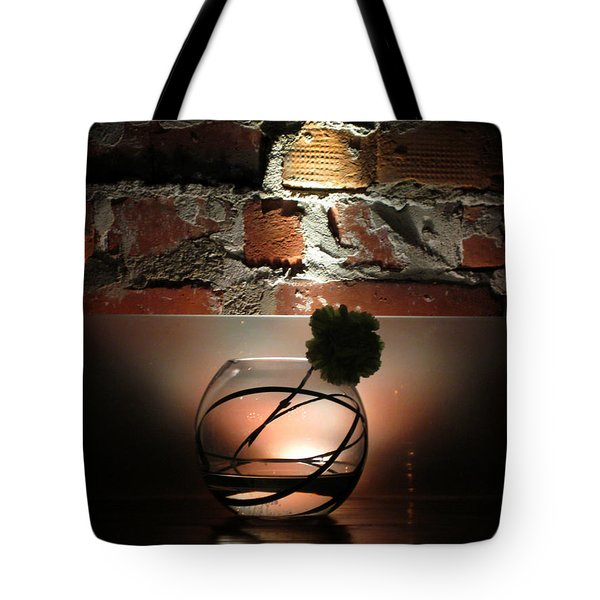 Shadow Flower Tote Bag