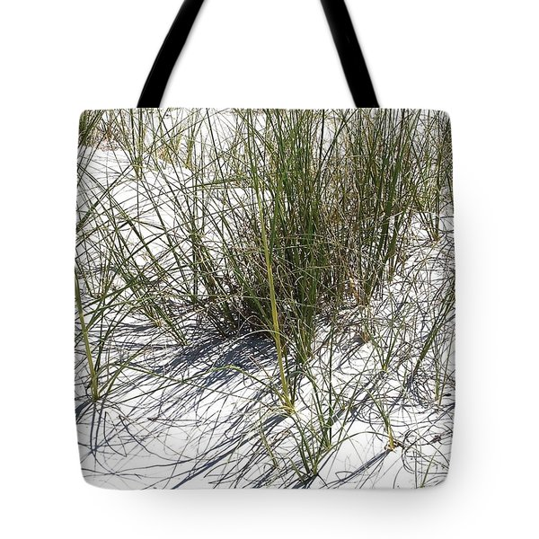 Shadow Grass Tote Bag