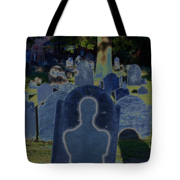 Shadow Grave  Tote Bag by First Star Art