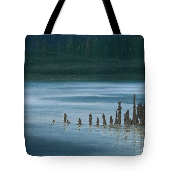 Shadow Host In The Mist Tote Bag