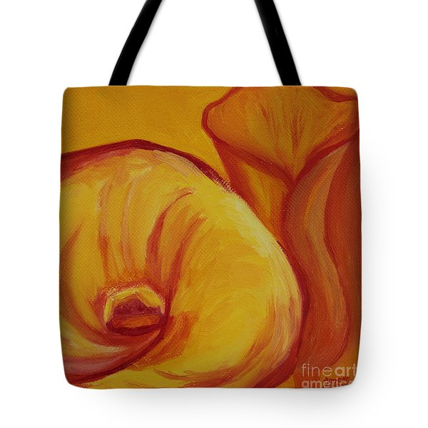 Shadow Lily Tote Bag