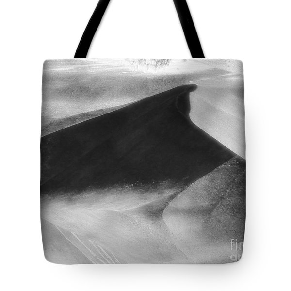 Shadow On The Land Tote Bag by Newel Hunter