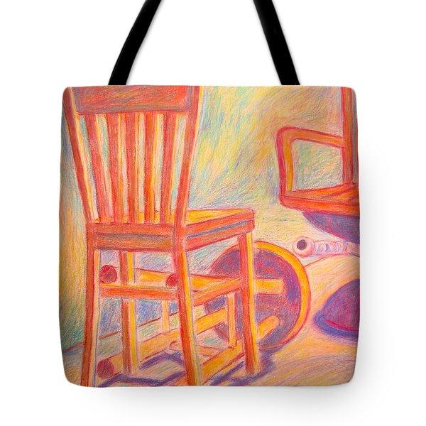 Shadow Play Tote Bag by Kendall Kessler