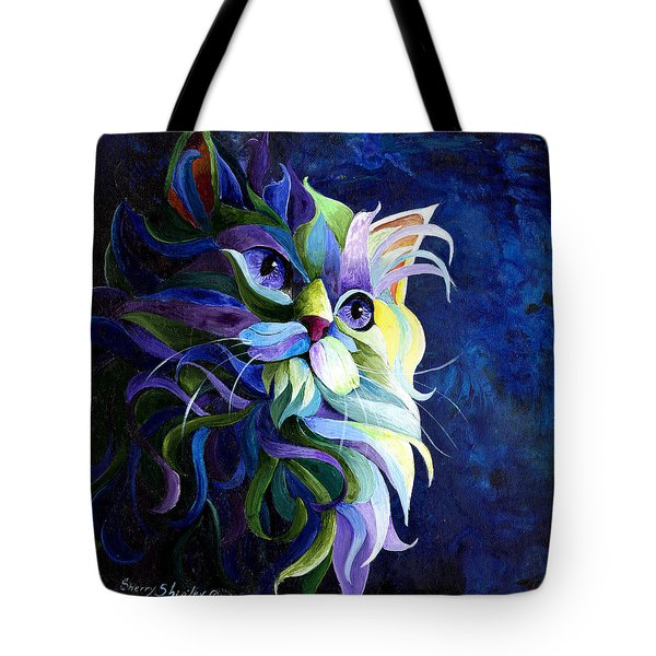 Shadow Puss Tote Bag