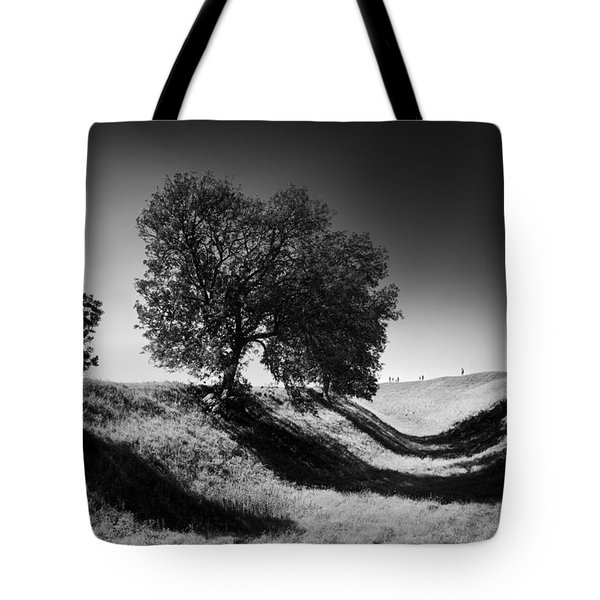 Shadow Time Tote Bag